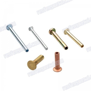 China 201704131285High Precision Brass Semi-Tubular Rivets 24 colors on sale