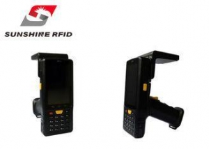China Professional Handheld UHF RFID Reader Mobile For Logistics / Medical Treatment on sale