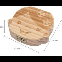 High profit project solid pine wood baby teeth box contact us
