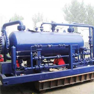 China ASME SA516 Grade 70 Three Phase Separator, ID 1066 x 46mm on sale