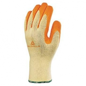China VE730OR KNITTED COTTON/POLYESTER GLOVE WITH LATEX COATING on sale