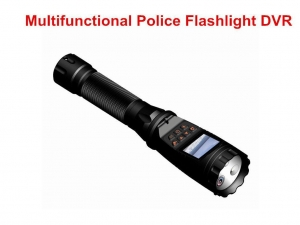 China 135 Degree Wide Angle Police Torch Flashlight Video Camera 1080P Support 3G 4G WiFi GPS on sale