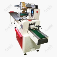 China Horizontal Chocolate Candy Bar Wrapping Packing Packaging Wrapper Machine on sale