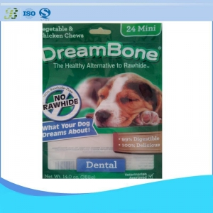 China Zipper Print Nylon Dog Food Bag on sale