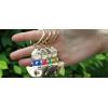 China Pendant Certain Of Success Keychain(green)xiamen Tourism Craft Souvenir Key Ring Souvenir for sale