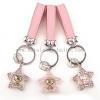 China Tanabata Valentine's Day Korean Diamond Hello Kitty Key Ring Cartoon Car Keys Key Rings Pendants for sale