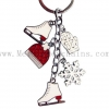 China Korean Women's Creative Small Gifts Christmas Gifts Sexy Car Keychain Small Pendants for sale