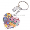 China Lovely Heart Pendant Jewelry Lovers Keychain Key Chain Buckle Logo Package Can Be Customized for sale