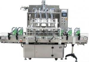 China Liquid Beverage Filling Equipment Labeling Machine For Fruit Juice Filling on sale