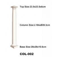 High quality polyurethane moulding HD-COL002 Polyurethane Classical Ionic Order Column