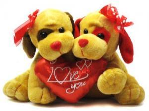 China Plush Valentine's Day animal stuffed toy -CS10197 on sale