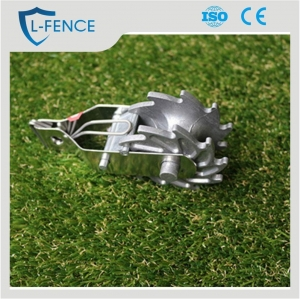 China Aluminum electric fence wire tightener wire strainer for fence wire on sale