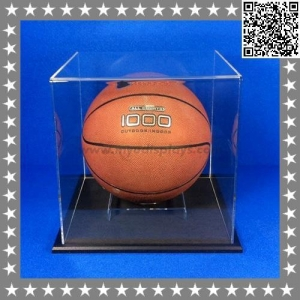 China Soccer and Tennis Ball , Golf Ball Sports Acrylic Display Cases & Boxes on sale