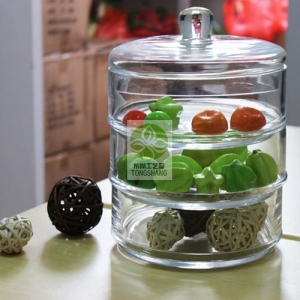 China Glass storage jar Item No.: STG-044 on sale