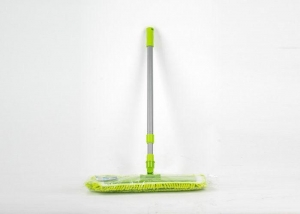 China Steel Powder Coated Pole Tile Floor Mop , Floor Dusters Mops Bright Surface on sale