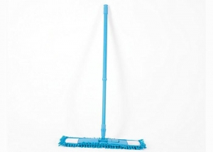 China Household Flat Wood Floor Cleaner Mop , Commercial Dust Mops For Hardwood Floors on sale