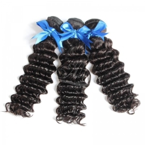 China 9A brazilian deep wave weave hairstyles on sale
