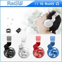 Foldable Over-ear Bluetooth Headphones Wireless Headsets Support FM Radio And SD Card