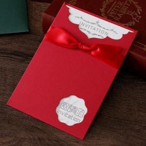 China Hot sale Business Invitation card personalized wedding invitation card on sale