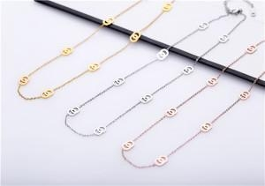 China Stainless steel chain necklace-4663 on sale