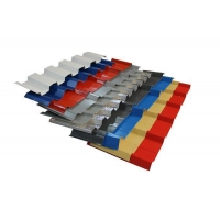 Color Coated Box Profile Roofing Sheets