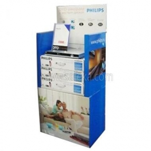 China Philips Dvd Player Cardboard Floor Display FSDU1756 on sale