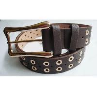 Les ceintures de taille de courroie cloutée par rivet en métal pour des femmes décorent des ceintures de décoration de rivets de jeans de femmes disponibles à la vente