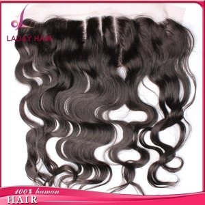 China Body Wave 13*4 Inch Lace Frontal Three Part In Stocks on sale