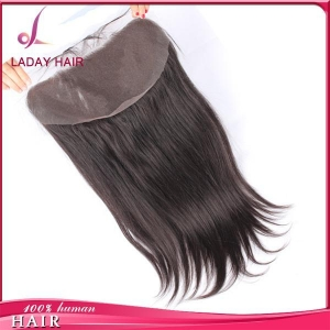 China 13*6 Inch Silky Straight Lace Frontal on sale