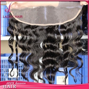 China Body Wave 13*4 Inch Lace Frontal Middle Part In Stocks on sale
