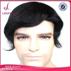 China Top Grade Men's Wig Best Quality Toupee HS1 #1 on sale