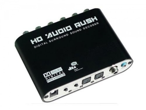 China P/N:BN-DAD02 5.1 Channel AC3 DTS Audio Gear Digital Surround Sound Rush on sale