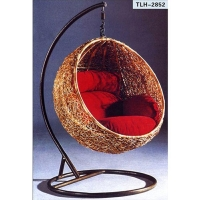 Garden Rattan Hanging Swing Basket Chair
