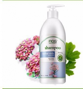 China AOG naturals herbal daily shampoo 532ml on sale