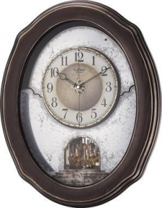 China Rhythm Timecracker Vintage Musical Wall Clock 4MH875WU02 on sale