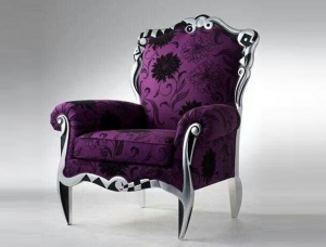 China French solid wood carved sofa chair on sale