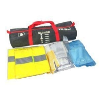 DIN13164 First Aid Kit for Car with Safety Vest and Working Gloves CE&E-mark