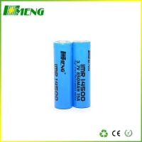 Hot Selling IMR 14500 850mAh 3.7V Lithium Aa 14500 Battery for Ecig