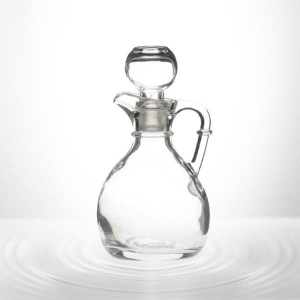 China Glass Vinegar Bottle with Stopper on sale