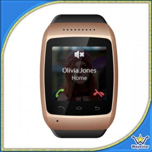 China 1.54'' OGS 240*240 2G GSM Quad Band Watch Phone Single Sim MTK6260A on sale