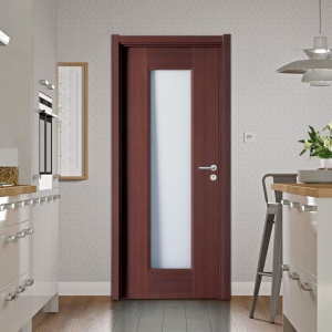 China MDF Doors Kitchen Interior New Door as Jeld Wen Patio Doors on sale