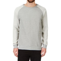 High Quality Grey Crew Neck Sweater