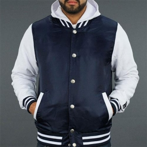 China Plain Nylon Baseball Jackets For Mens High Quality on sale