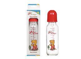 China 31045 9oz/250ml Glass Feeding Bottle Window Box on sale