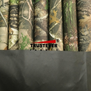 China Outdoor fabric series Realtree Camouflage printed 600D Polyester Fabric on sale