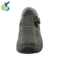 China Branded Safety Shoes Embossed Leather Trainers House Safety Shoes on sale