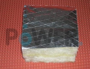 China GLASS WOOL FACTED ALUMINUM FOIL on sale