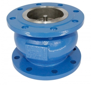 China Cast Iron silent check valve flange end on sale