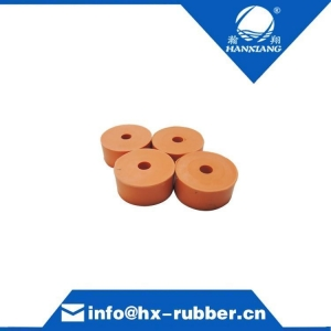 China Rubber-Damper Adjustable Rubber Bumper Feet, levelers, 1/4-20 Thread, solid rubber on sale