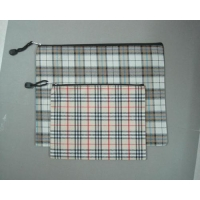 Cloth Zipper Document Pouch
